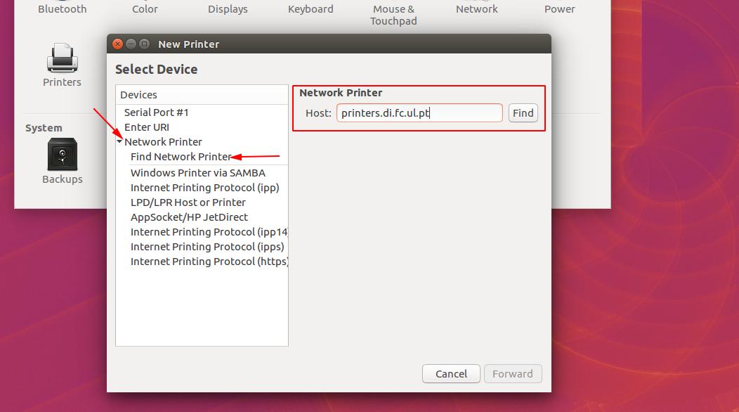 instalação de impressoras ubuntu slide 3