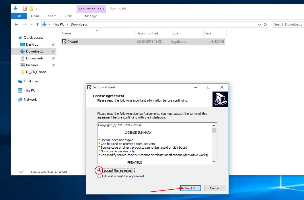 Instalação da VPN – Windows 10 – ADMINDI